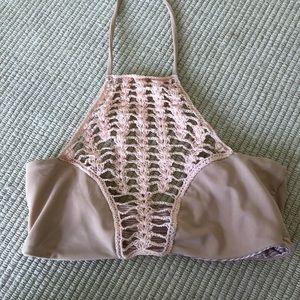 Acacia Naked Panama Crochet Bikini Top